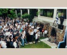 אפריל 2000 יום הזיכרון בבודפסט