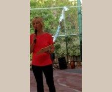 אורנה שוורץ, מורה לחינוך גופני